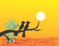 петь ilustration птицы Стоковые Изображения