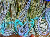 Петли покрашенной веревочки Стоковое Изображение RF