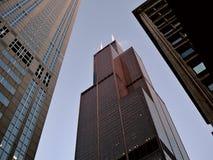 Петля Чикаго - известный Sears Tower Стоковое Изображение