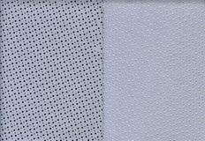 Пефорированная кожа текстуры Стоковые Фото