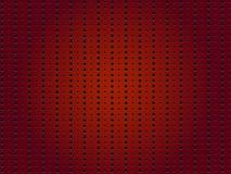 Пефорированная красная предпосылка Стоковая Фотография RF