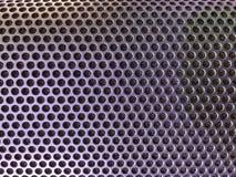 Пефорированная крышка металла тональнозвукового диктора Стоковая Фотография RF