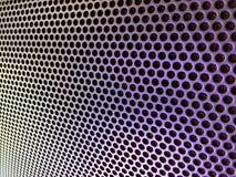 Пефорированная крышка металла тональнозвукового диктора Стоковые Фото