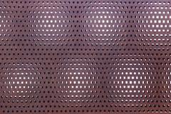 пефорированная поверхность металла ржавая стоковое изображение