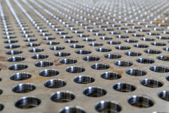 пефорированная сталь Стоковая Фотография RF