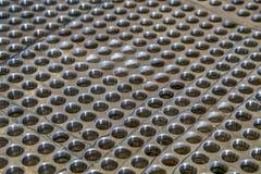 пефорированная сталь Стоковое Изображение