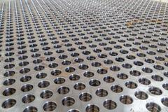 пефорированная сталь Стоковая Фотография