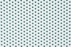 Пефорированный металл покрашенный белизной Стоковые Фотографии RF