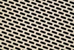 пефорированный металл Стоковое фото RF