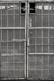 Пефорированный строб металла стоковое фото