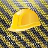 пефорированный шлем Стоковая Фотография