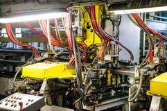 Пефорируя машина для металлургии листа Стоковое Изображение RF