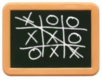 пец ноги ребенка миниый s tac chalkboard tic Стоковая Фотография RF