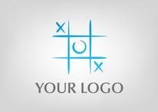 пец ноги tac логоса tic иллюстрация вектора