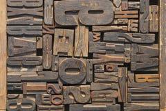 печатание блоков Стоковые Фотографии RF