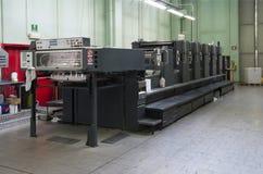 печатание давления машины смещенное стоковые изображения