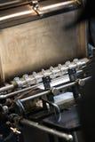 печатание машины старое стоковые изображения
