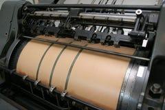 печатание машины Стоковая Фотография