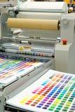 печатание машины стоковое изображение