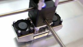 печатание принтера 3d сток-видео