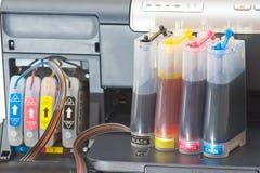 печатание Стоковое Изображение RF