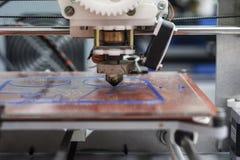 печатание 3d Стоковая Фотография RF