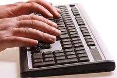 печатать на машинке клавиатуры Стоковая Фотография RF