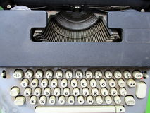 печатать на машинке машины старый Стоковые Фото