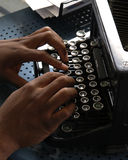 печатать на машинке Стоковые Изображения