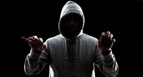 Печатать хакера Стоковая Фотография