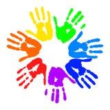 печати руки Стоковые Фотографии RF
