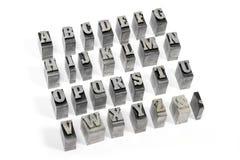 печатные буквы Стоковое фото RF
