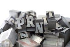печатные буквы стоковые фото
