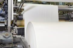 Печатный станок большого webset смещенный стоковая фотография