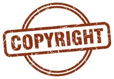 печать авторского права бесплатная иллюстрация