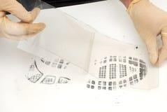 Печать ботинка Стоковое фото RF