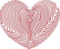 печать влюбленности Стоковые Фотографии RF
