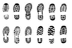 печать изолята ботинка Стоковые Изображения