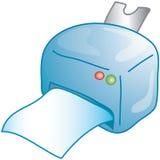 печать иконы Стоковое Изображение