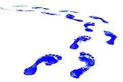 печать ноги Стоковая Фотография RF