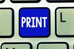 Печать показа примечания сочинительства Фото дела showcasing включающ переход текста или бумаги Softcopy дизайнов к стоковая фотография