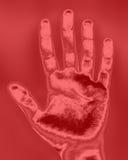 печать руки Стоковые Фотографии RF