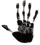 печать руки Стоковое Фото