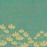 печать цветка предпосылки голубая помыла Стоковое Изображение RF