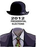 Печать для президентских выборов иллюстрация вектора