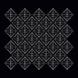 Печать applique страза для ткани одевает в моде иллюстрация штока