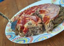 печенка элемента конструкции торта Стоковые Изображения