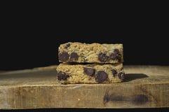 Печенье бара обломока шоколада Стоковое фото RF