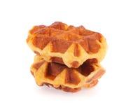 Печенье вафли Стоковая Фотография