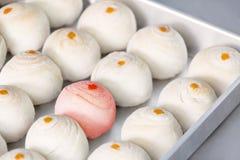 Печенье десерта китайские или торт луны на китайский Новый Год в bakin Стоковое Изображение RF